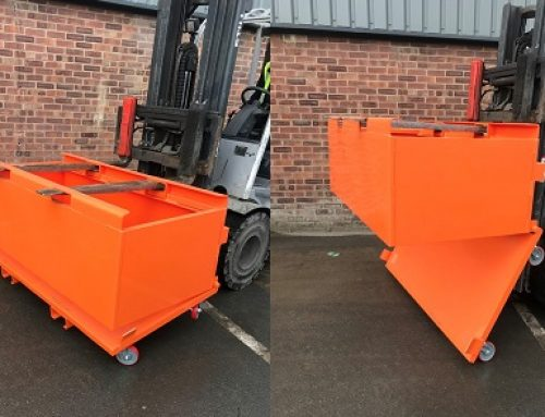 Case study: Bespoke bottom emptying bins for a large brick manufacturer