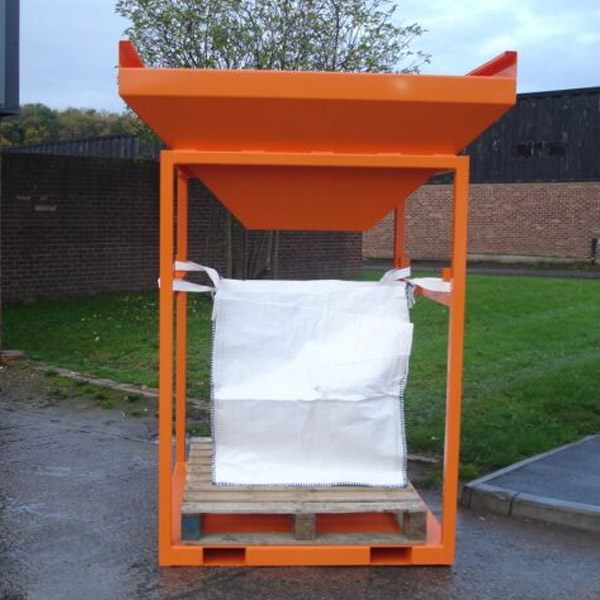 Bulk Bag Hopper Forklift Attachment