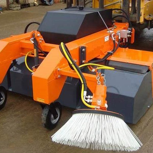 Fork Mounted Hydraulic Sweeper