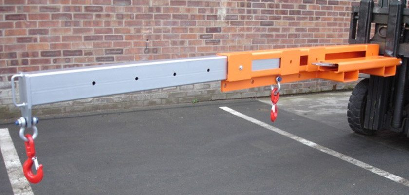 Image of an Invicta Fork Mounted Low Profile Extending Jib