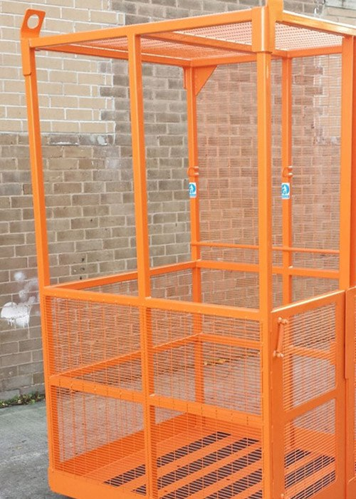 crane or fork mounted platform